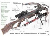 Armbrust, Matrix 350 Camo XTRA Custom