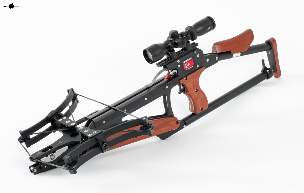 SCM Twinbow II Sixpack Riser Ambrust bei ARROW IN APPLE